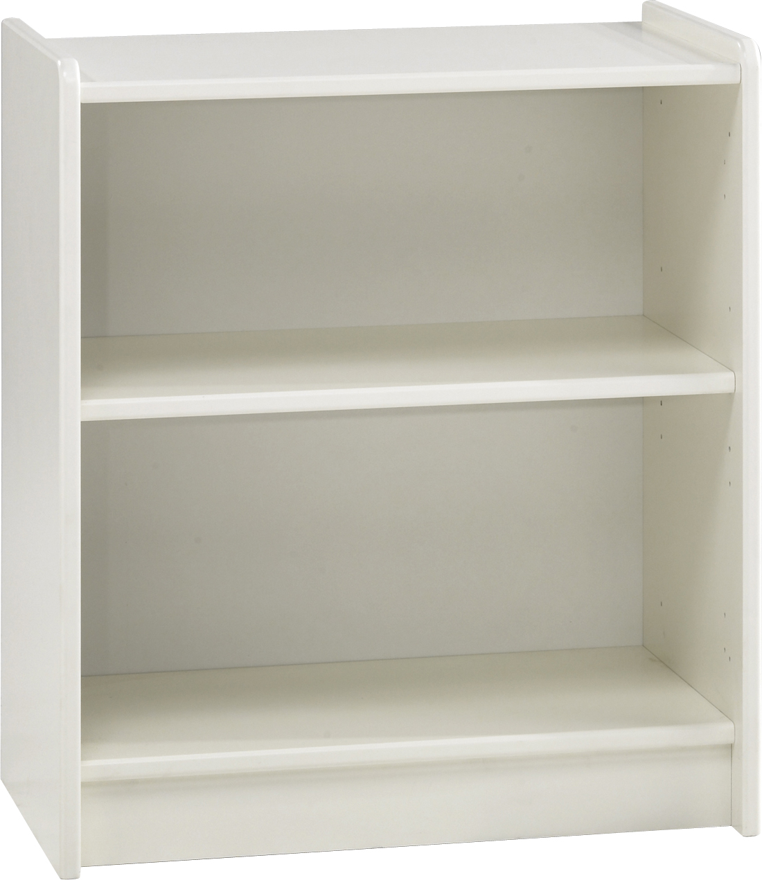 Steens For Kids Low Bookcase In Solid Plain White