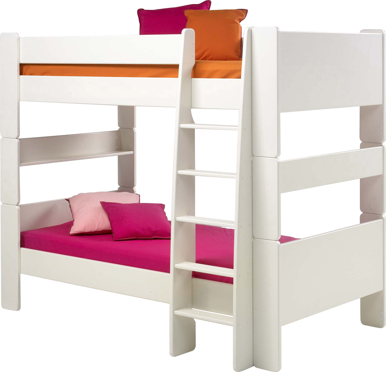 Picture of: Steens For Kids Bunk Bed In Solid White Children S Bed Shop