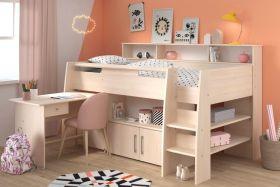 Parisot Kurt Acacia Midsleeper Cabin Bed