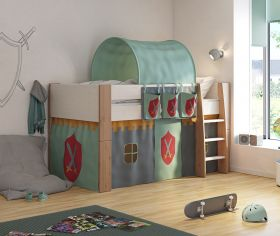 Steens For Kids Two Tone Midsleeper with Knight Accessories