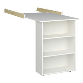 Steens For Kids Pull-out Desk in Surf White