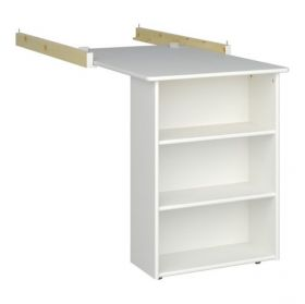 Steens for Kids Pull-out Desk in Solid Plain White