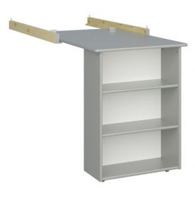 Steens for Kids Pull-out Desk in Soft Grey