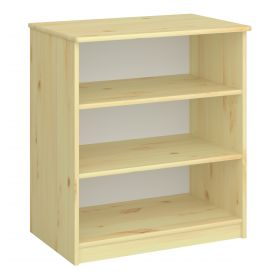 Steens For Kids Low Bookcase in Natural Lacquer