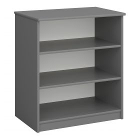 Steens For Kids Low Bookcase in Cool Grey