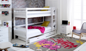 Thuka Nordic Bunk Bed 2 with Under Bed Drawers