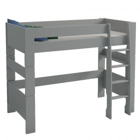 Steens For Kids High Sleeper Bed in Cool Grey