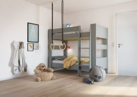 Steens For Kids Bunk Bed in Cool Grey