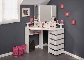 Parisot Corner Beauty Bar - White