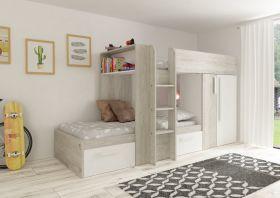 Kids Avenue Trasman Barca Bunk Bed - White