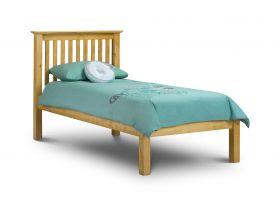 Julian Bowen Barcelona Pine Low Foot End Single Bed