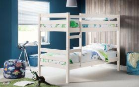 Julian Bowen Camden White Bunk Bed