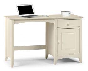 Julian Bowen Cameo Stone White Desk