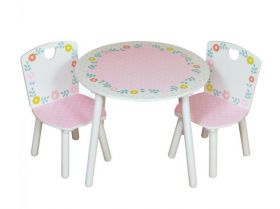 Kidsaw Country Cottage Table and 2 Chairs