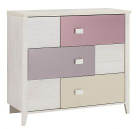 Galipette Charly Pink Chest of Drawers