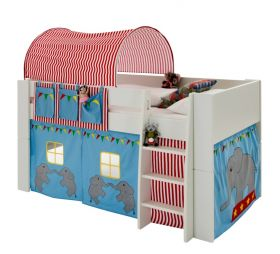 Steens For Kids Midsleeper with Circus Accessories