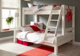 Flair Harper Triple Bunk Bed in White
