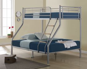 Birlea Nexus Silver Triple Sleeper Bunk Bed