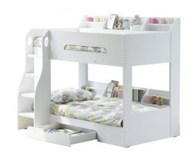 Flair Flick Bunk Bed in White