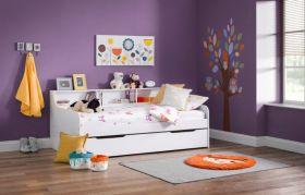Julian Bowen Grace Day Bed & Underbed / Storage Drawer in White