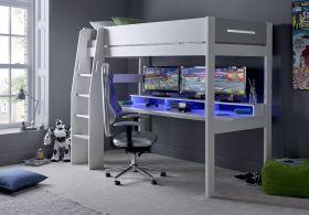 Kids Avenue Urban Grey Gaming Highsleeper 4