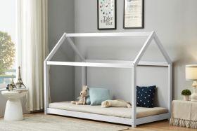Birlea House Single Bed in White