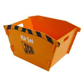 Kidsaw JCB Skip Toy Box