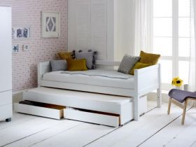 Thuka Nordic Day Bed 1 in White