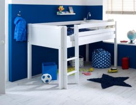 Thuka Nordic Midsleeper Cabin Bed 1 in White