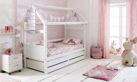 Thuka Nordic Playhouse Day Bed 2 in White
