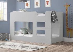 Julian Bowen Solar Bunk Bed in Dove Grey