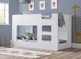 Julian Bowen Solar Bunk Bed in White