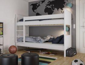 Steens Alba Bunk Bed in Surf White