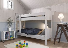 Steens Alba Narrow Bunk Bed in Surf White