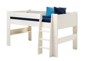 Steens For Kids Midsleeper Bed + Mattress Bundle
