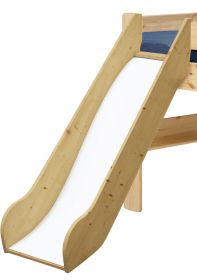 Steens For Kids Slide For Midsleeper in Natural Lacquer