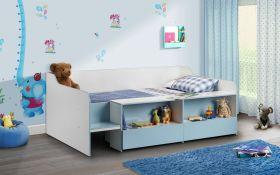 Julian Bowen Stella Low-Sleeper Bed In Blue