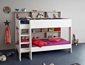 Parisot Tam Tam White & Grey Bunk Bed