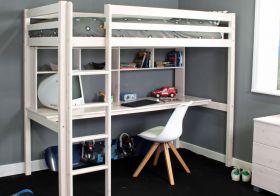 Thuka Hit 10 Highsleeper Bed with Desk & Storage
