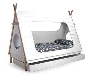 Tipi Cabin Bed with Underbed Drawer