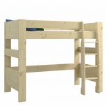 Steens For Kids High Sleeper and Low Wardrobe in Natural Lacquer