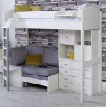 Kids Avenue Noah F High Sleeper Bed (formerly Stompa Casa F High Sleeper Bed)