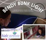 Silver Bendy Bunky Light - Childs Bed Light