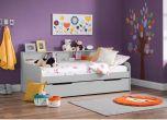 Julian Bowen Grace Day Bed & Underbed / Storage Drawer in Grey
