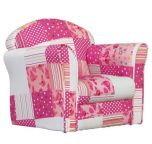 Kidsaw Mini Armchair - Pink Patchwork