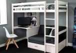 Thuka Hit 8 Highsleeper Bed with Desk & Sofabed