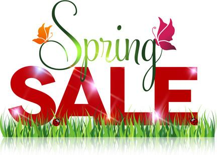 Spring Sale is now on