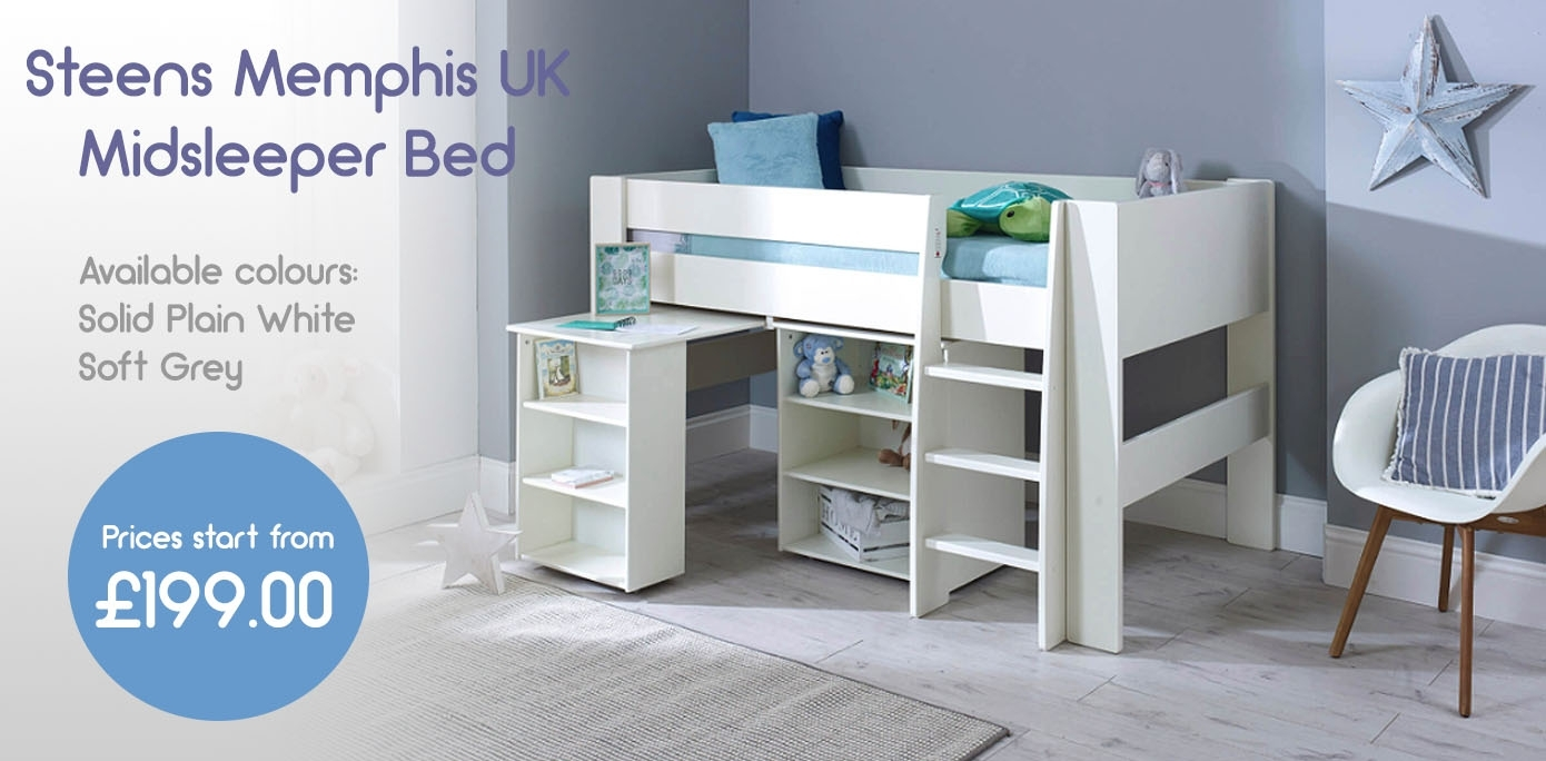Childrens Bed Shop | Childrens Bedroom Furniture | White ...